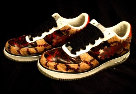 air force one texas chainsaw massacre 5 Shoes To Die For