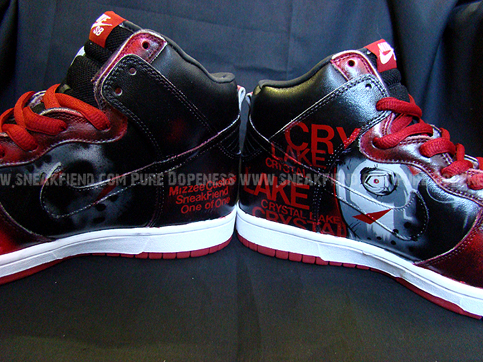 nike dunk jason custom sneakers 2 Shoes To Die For