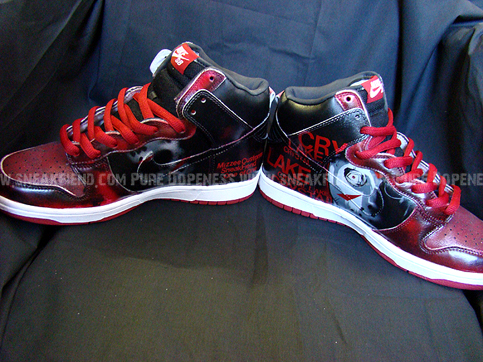 nike dunk jason custom sneakers 3 Shoes To Die For