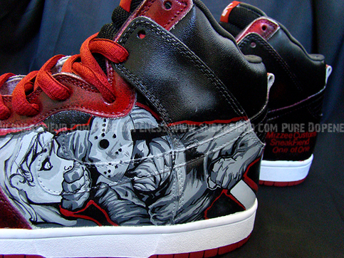 nike dunk jason custom sneakers 5 Shoes To Die For
