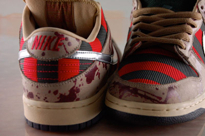 nike freddy krueger dunk low sb horror 2 Shoes To Die For