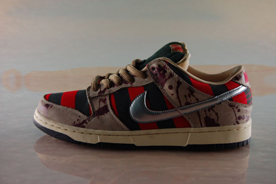 nike freddy krueger dunk low sb horror 3 Shoes To Die For