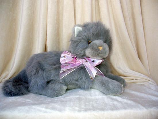 regal grey cat Teddy Bear Urns.......?