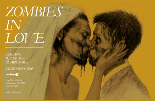 zombie flyer final front500 Zombies in Love Exhibition