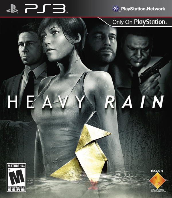 Heavy Rain US Cover Game Review: Heavy Rain Will Damper Your Spirit, But Is A Breath Of Fresh Air