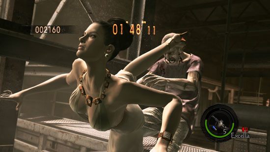 Resident Evil 5 excella 03 Resident Evil 5: LOST IN NIGHTMARES Ready for Download