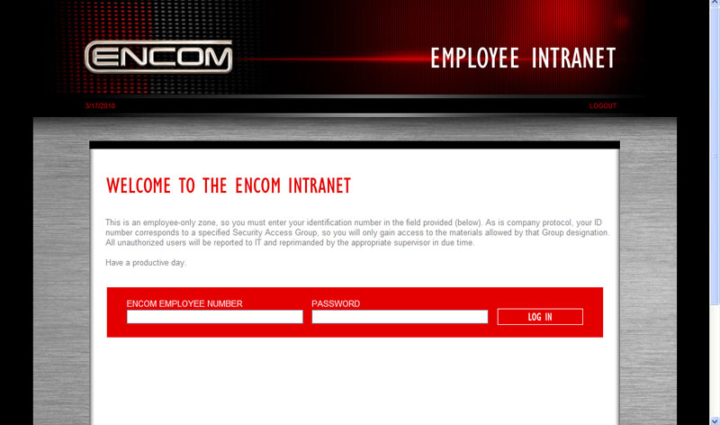 Encom Login Page My Tron Legacy Encom Badge Just Came – Encom Intranet Site Revealed
