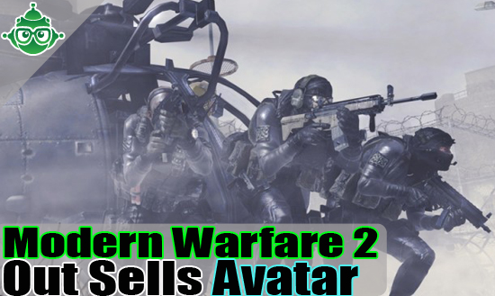 HEADER modernwarfare Modern Warfare 2 Out Sells AVATAR
