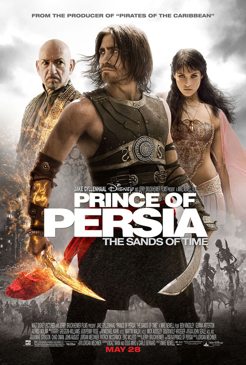 Pince Of Persia Payoff One Sheet Jake Ben New Prince of Persia Poster Shows Ben Kingsley Mad