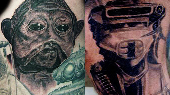 Star Wars Bounty Hunter Tattoos