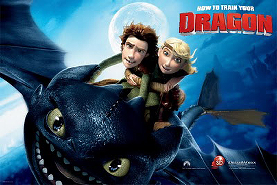 how to train your dragon 3D Movie Review: How To Train Your Dragon