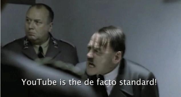 youtube hitler downfall meme parody Hitler Memes on YouTube Taken Down by Film Company