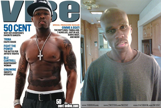 50OhNoes2 50 Cent Gets Scary Skinny For Things Fall Apart