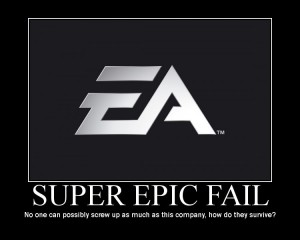 SuperEpicFail 300x240 EA to Start Charging Buyers of Used Sports Titles for Online Play