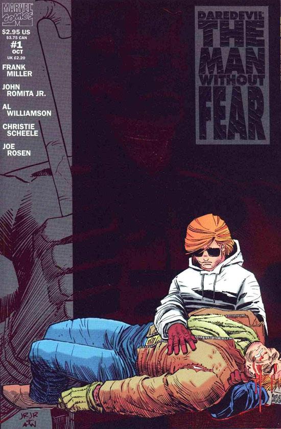 daredevilmanwithoutfear1 Retro Comics: Frank Millers Daredevil