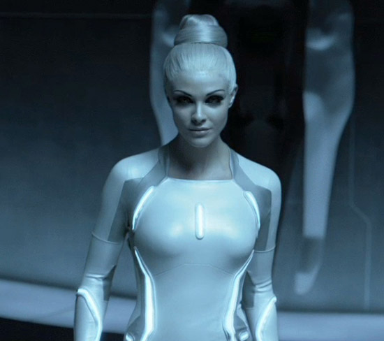 swan The Sexy Girls of Tron: Legacy