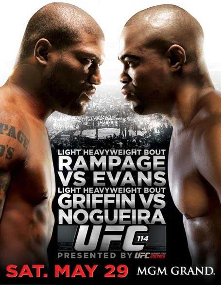 ufc114 poster 2 medium UFC 114: Rampage vs. Rashad Predictions