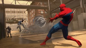 991324 20100330 790screen007 300x169 Different Spider Man Realities Revealed for Spider Man: Shattered Dimensions
