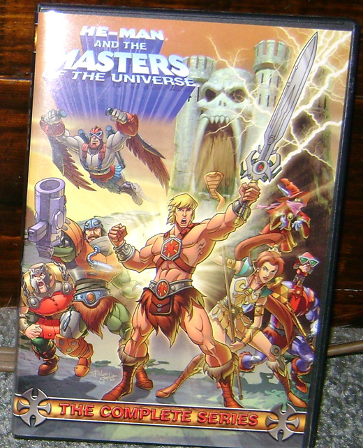 HM1 DVD Review: Masters Of The Universe Complete Series 2002