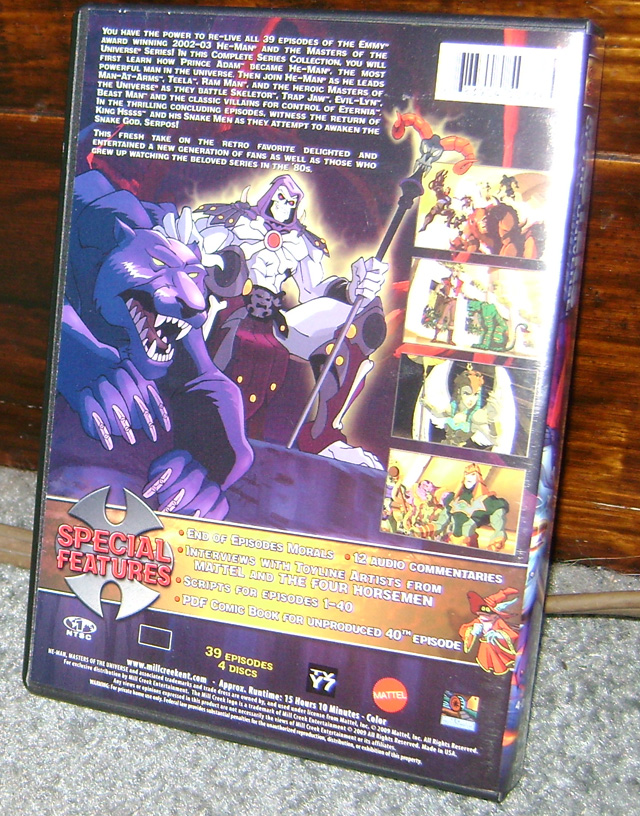 HM2 DVD Review: Masters Of The Universe Complete Series 2002
