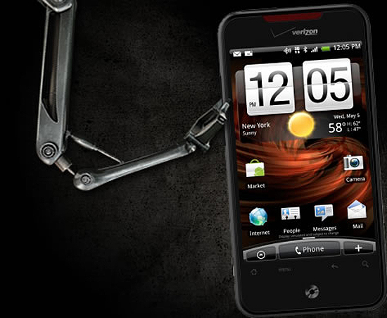 HTC Droid Incredible Verizon Wireless HTC Pays George Lucas For DROID Copyrights