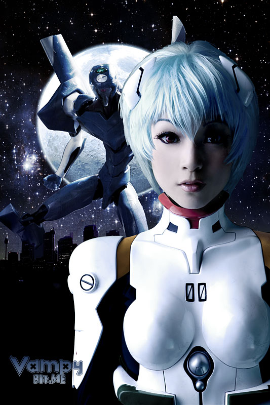 Rei Ayanami by VampBeauty Cosplay Interview: Linda Le aka Vampy