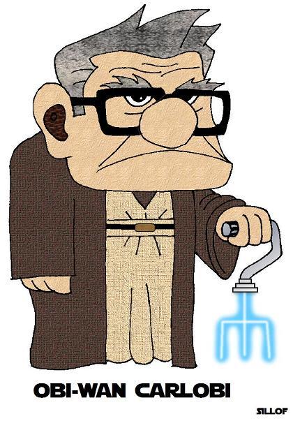 obi wan carlobi 2 Disney: Star Wars & Disney Characters Combined