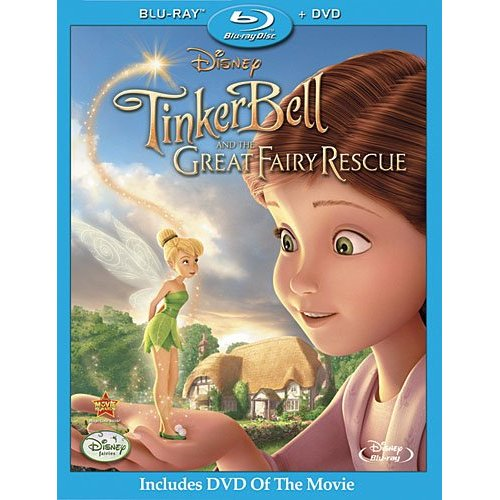 tinkerbell fairy rescue dvd Disney: Tinker Bell and the Great Fairy Rescue
