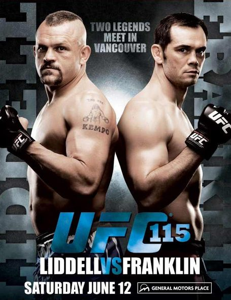 ufc115 poster medium UFC 115 Predictions