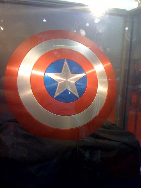 17 Namor In Captain America Movie & Shield at SDCC