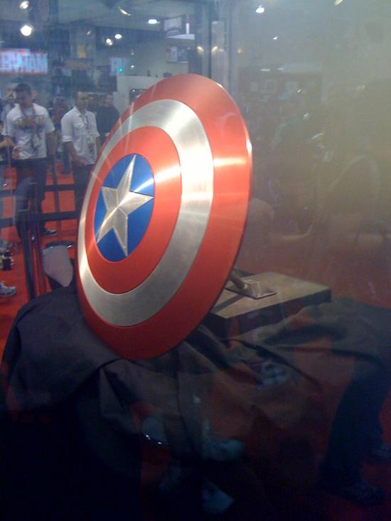 31 Namor In Captain America Movie & Shield at SDCC