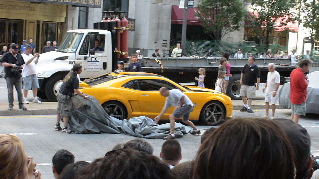 8 Transformers 3 Detailed Report From Chicago Shoot