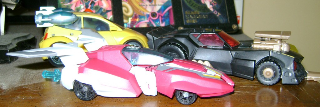 Arcee Car 1024x344 Bitchin Toy: Transformers Animated, Arcee!