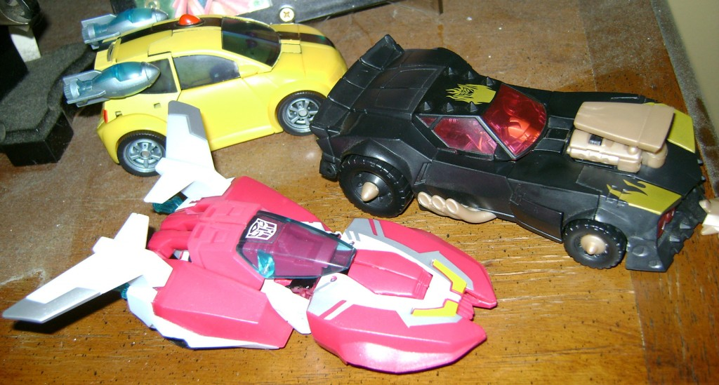 Arcee Car top 1024x549 Bitchin Toy: Transformers Animated, Arcee!