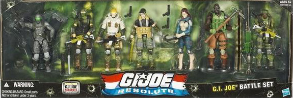GI R Joes G.I. Joe Resolute: Figure 7 Packs!