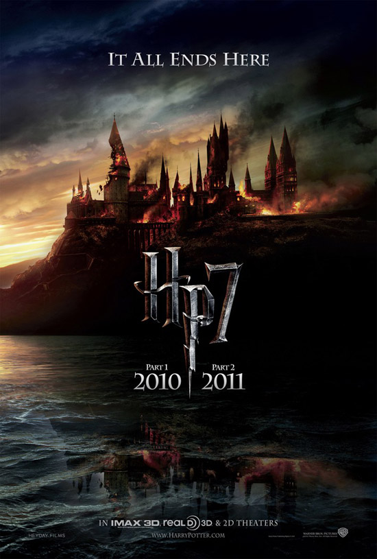HP7 DOM Tsr1Sht IMAXDA790722 Harry Potter And The Deathly Hallows Teaser Poster
