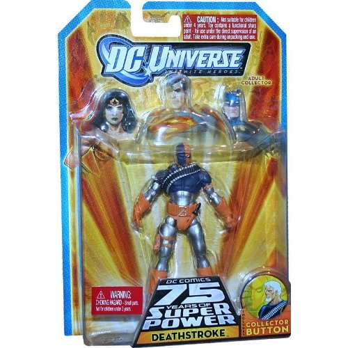 deathstroke Giveaway:  DC 75th Anniversary Toy Gift Pack