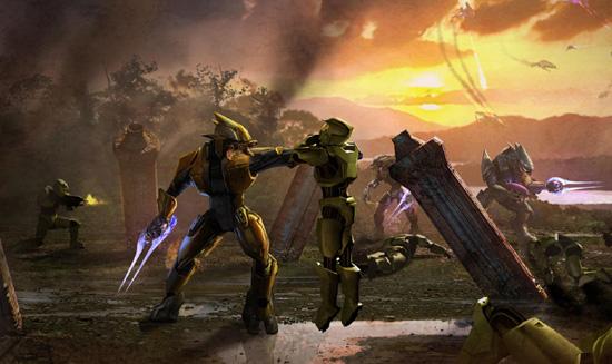 haloreach Blood Gulch Is Back On Halo Reach