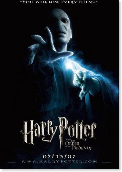 harry potter and the order of the phoenix Harry Potter And The Deathly Hallows Teaser Poster