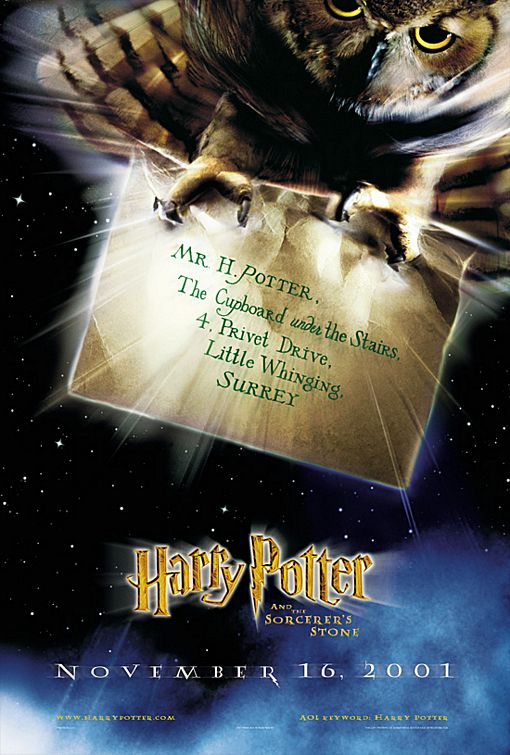 harry potter and the sorcerers stone ver1 Harry Potter And The Deathly Hallows Teaser Poster