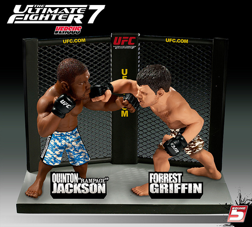 jackson griffin New UFC Versus Figures In Fall