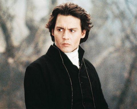 Johnny Depp. Vampire Johnny Depp In Tim
