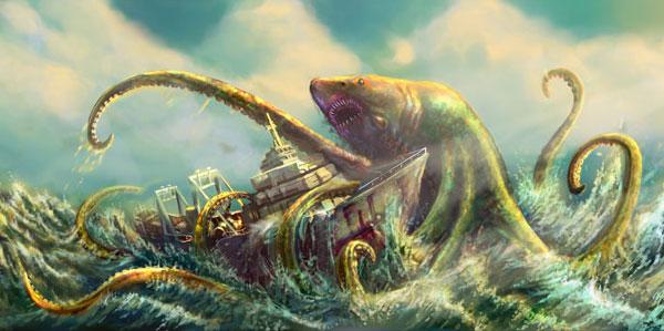 sharktopus Syfy Trailer: Sharktopus