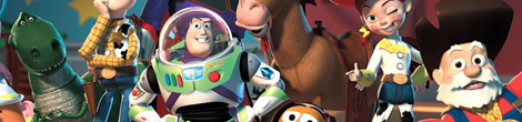 toy story banner Video: Toy Story Zoetrope