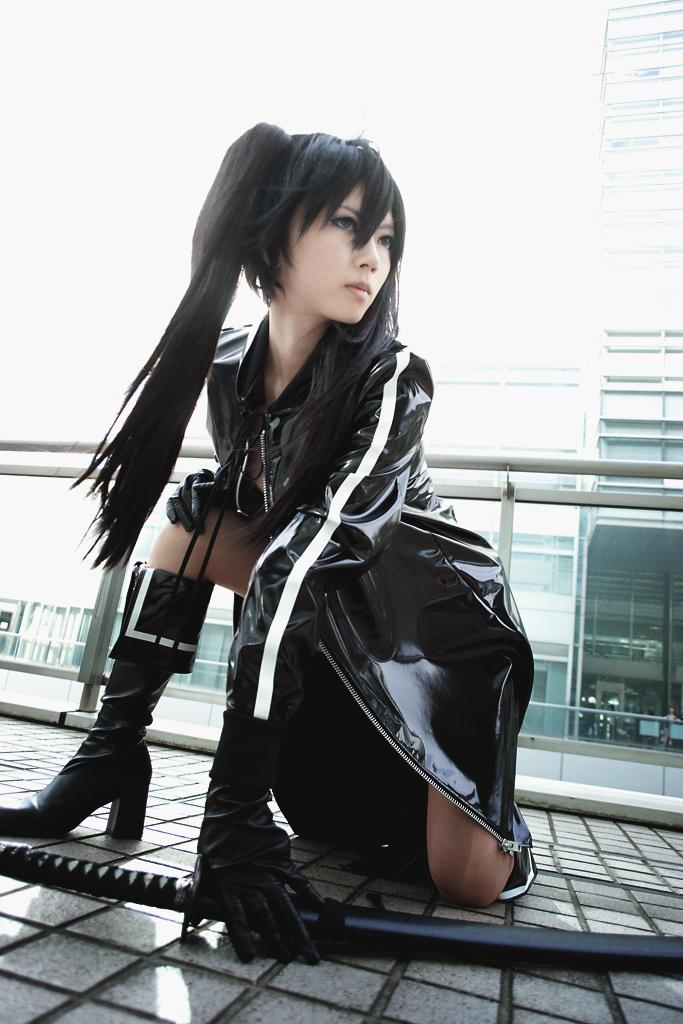 Mod1 Black Rock Shooter:  Sexy Anime Style At Its Best!