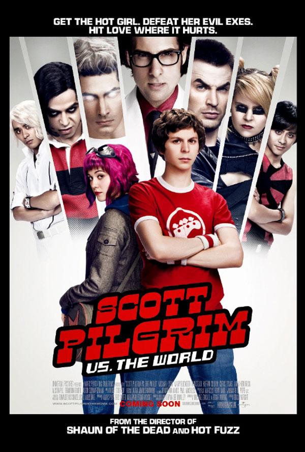 Scott Pilgrim1 Movie Review: Scott Pilgrim Vs The World