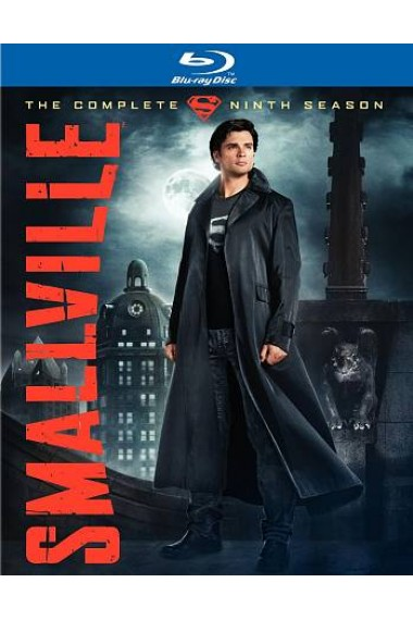 Smallville Season 9 cover Blu Ray Review: Smallville: The Complete Ninth Season