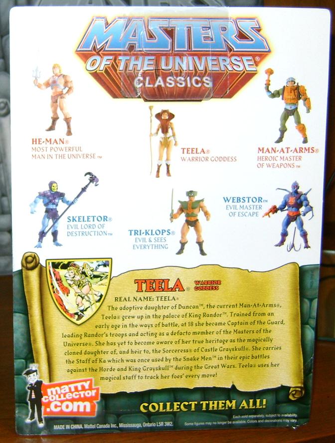 Teela 2 Bitchin Toy: MOTU Classics Teela