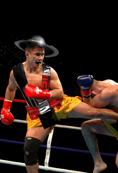 kung lao MMA Fighters as SF and MK Characters