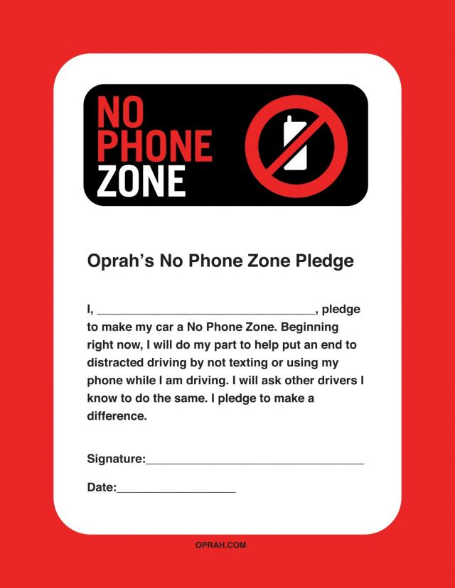 no phone zone Dont Tweet And Drive